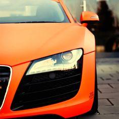 Matte Orange R8