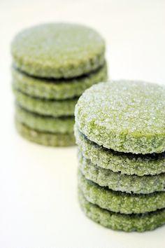 Matcha (green tea) Biscuits | La ciliegina sulla torta