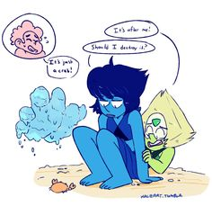 Peri, its all right. Lapis Lazuli, Steven Universe Lapidot, Peace And Love, My Love, Fanart, Universe Art, Star Vs The Forces Of Evil, Kids Shows, Force Of Evil
