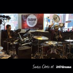 A special 247drums groovy moment with #Swiss #Chris (Kanye West, John Legend, Gloria Gaynor) returning to 247drums to inspire our audience with top notch performances and stellar instruction! @sabiancymbals #sabiancymbals #sabian #regaltip #drumsticks #nataldrum  #247drums #5ParkStreet,  #Winchester , #Massachusetts 01890 #drums #drumming #drumlessons  #Sergio #Bellotti #Boston #drummer @yamahacorpus @remopercussion @vicfirth @zildjiancompany
