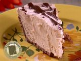 This peanut butter pie is so delicious and so simple to make! NO BAKE :-)