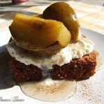 Quick check dessert and pears Cooking Recipes, Quick Recipes, Almond, Deserts, Good Food, Pudding, Chocolate, Health, Ferrero Rocher
