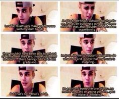 THE SIDE OF JUSTIN BIEBER THAT EVERYONE SHOULD KNOW ABOUT
