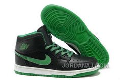 http://www.jordanaj.com/cheap-to-buy-air-jordan-1-i-mens-shoes-online-sale-black-green.html CHEAP TO BUY AIR JORDAN 1 I MENS SHOES ONLINE SALE BLACK GREEN Only $89.00 , Free Shipping!