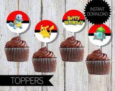 Pokemon Go Birthday Party PRINTABLE Water by APartyPrintable