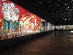 村上隆の五百羅漢図展 - Google 検索