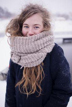 winter portrait by slainmejifolie, via Flickr