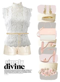 """Simply Divine"" by stonge-02 on Polyvore featuring Diane Von Furstenberg, Oscar de la Renta, Steve Madden, Eddie, Valentino, David Yurman and Accessorize"