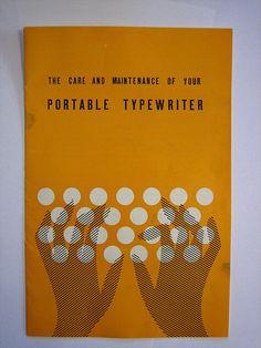 typewriter manual by wellapptdesk, via Flickr