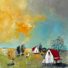 Artwork of Glendine exhibited at Robertson Art Gallery. Original art of more than 60 top South African Artists - Since Farm Art, South African Artists, Encaustic Art, Naive Art, Watercolor Paintings, Oil Paintings, Blue Art, Illustrations, Photo Art