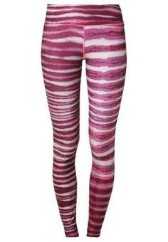 Tights - hyper pink/deep garnet