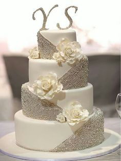 Traditional white wedding cakes are anything but boring, thanks to the addition of intricate, modern details. Gold Glitter, Gold Mirror, Light Blue, Pink Mirror, Purple Mirror, Rainbow Glitter, Red, Royal Blue, Silver Glitter