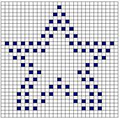 Ravelry: Star Bobble Chart pattern by Kari Philpott