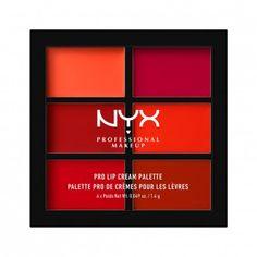 Nyx Professional Makeup Pro Lip Cream Palette 1.4 g (The Reds)