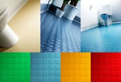 Rubber Flooring Products available at Buxtons, Brighton & Sussex