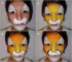 Cómo pintar caras con maquillaje artístico para niños | Fiestas y Cumples