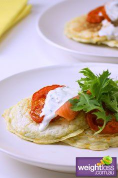 Healthy Lunch Recipes: Corn & Zucchini Pancakes - weightloss.com.au