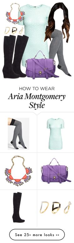 """""""Aria Montgomery inspired outfit with requested socks"""" by liarsstyle on Polyvore"""