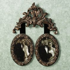 Natalie Double Photo Frame Wall Accent
