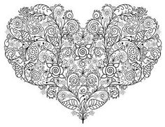 This domain may be for sale! Christian Affirmations, With All My Heart, Adult Coloring Pages, Zentangle, Valentines, Tattoos, Crafts, Image, Pencil Drawings