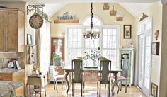 Cozy French Home Decor: Entrancing Traditional French Home Design Inspired Open Dining Room Inspired Home Decor ~ promwardrobe.com Decoration Inspiration
