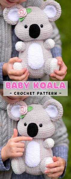 Diy Crochet And Knitting, Crochet Bear, Cute Crochet, Crochet Animals, Crochet For Kids, Crochet Doll Pattern, Crochet Patterns For Beginners, Crochet Patterns Amigurumi, Step By Step Crochet