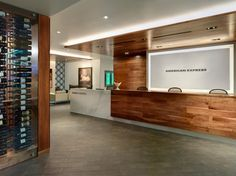 American Express Centurion Lounge by Big Red Rooster at San Francisco International Airport, San Francisco – California » Retail Design Blog