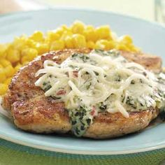 Chicken with Florentine Sauce Recipe from Taste of Home -- shared by Julie Fitzgerald of St. Louis, Missouri
