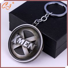 Xmen Logo Alloy metal 3d style Keychain Key Ring
