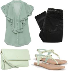 """""""Sea Waves"""" by natyleygam ❤ liked on Polyvore"""