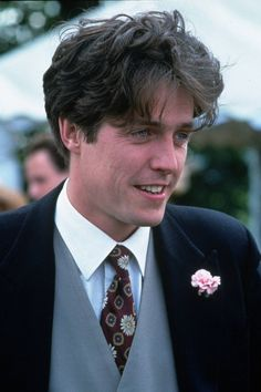 Russell T Davies has complained that Hugh Grant's bumbling character in Four Weddings And A Funeral has 'infected the whole of fiction'. Hugh Grant Young, Hugh Grant Notting Hill, Beautiful Boys, Pretty Boys, Russell T Davies, Capitan America Chris Evans, Z Cam, Great Hair, Great Movies