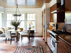 tile floors are great for barefooters