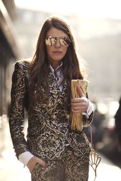 And that's how ADR should dress, gorgeous!!  On the Street….rue Scribe, Paris « The Sartorialist