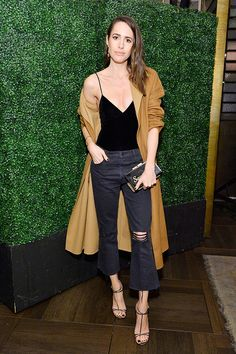 Louise Roe attends MIRANDA MOTHER capsule launch benefiting The Royal Hospital For Women at Catch LA on February 1 2017 in West Hollywood California