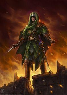 Assassins Creed/Legend of Zelda/Link Cross over. -- Make this happen Ubisoft/Nintendo.