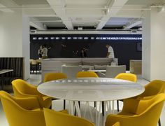 GLG Global Headquarters office by Clive Wilkinson Architects, New York   US office