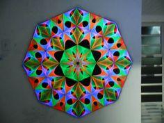 Brazil power! =) #uv #stringart #deco #psychedelic