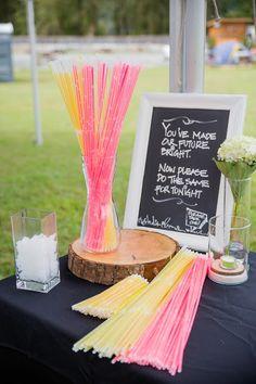 Glow Stick Reception! riversideevents.blogspot.ca/