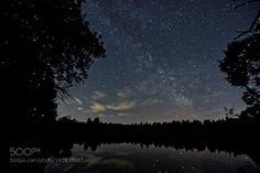Milchstraße am Auensee Milky Way on Auensee  Camera: NIKON D5300 Focal Length: 11.5mm Shutter Speed: 25sec Aperture: f/2.8 ISO/Film: 6400  Image credit: http://ift.tt/29r62oA Visit http://ift.tt/1qPHad3 and read how to see the #MilkyWay  #Galaxy #Stars #Nightscape #Astrophotography