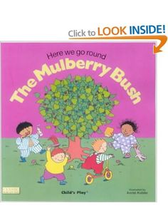 Here We Go Round the Mulberry Bush Classic Books with Holes: Amazon.co.uk: Annie Kubler: Books