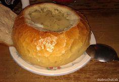 Krémová syrová polievky v bochníku Bread, Food, Brot, Essen, Baking, Meals, Breads, Buns, Yemek