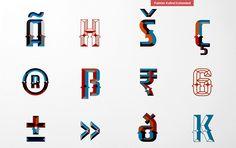 Handpainted Type on Behance