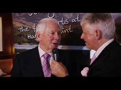 Gay Byrne @Marc Gysling talking about the Gathering