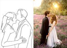 20 лучших поз для свадебной фотосессии, жених целует невесту в лоб