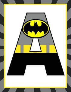 This purchase includes letter printables A to Z and number printables 0 to 9.  Great for creating various SUPER HERO banners (Welcome, Headquarters, Super Heroes) Format:* 8.5 x 11 - size* PDF and JPEGs (or use JPEGS to print smaller sizes)PRINTING:For best results, print on gloss photo paper.