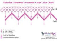 free beading patterns and instructions christmas bulbs | Victorian Christmas Ornament Cover Bead Graph for Beading