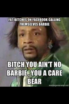 - excuse the language but this made me laugh....Katt Williams is hilarious !!