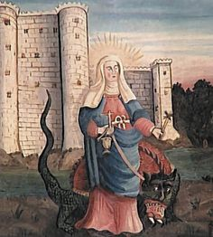 Saint Martha and the Tarasque in Provence