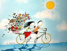 Pinzellades al món: Les il·lustracions dAndrzej Tylkowski: alegria i simpatia