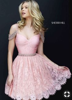 Sherri Hill Prom and Homecoming Dresses Sherri Hill 50503 Sherri Hill One Enchanted Evening - Designer Bridal, Pageant, Prom, Evening & Homecoming Gowns Trendy Dresses, Cute Dresses, Beautiful Dresses, Short Dresses, Party Dresses, Xv Dresses, Cheap Dresses, Occasion Dresses, 2016 Homecoming Dresses